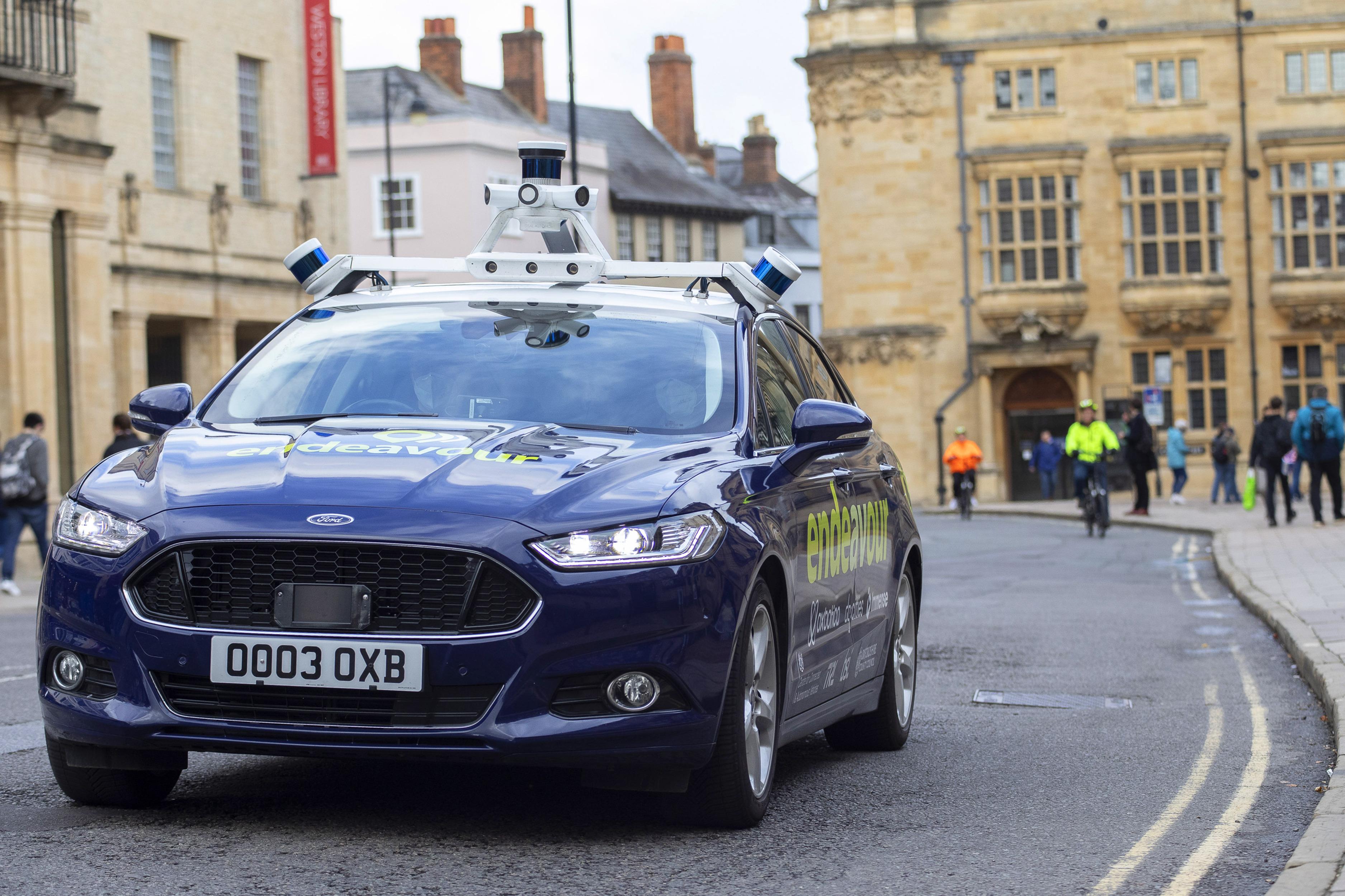 Project Endeavour autonomous driving trials begin in Birmingham ...