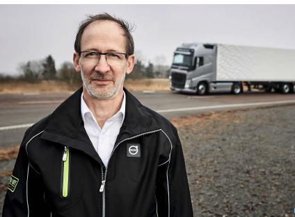 Carl Johan Almqvist safety director Volvo Trucks