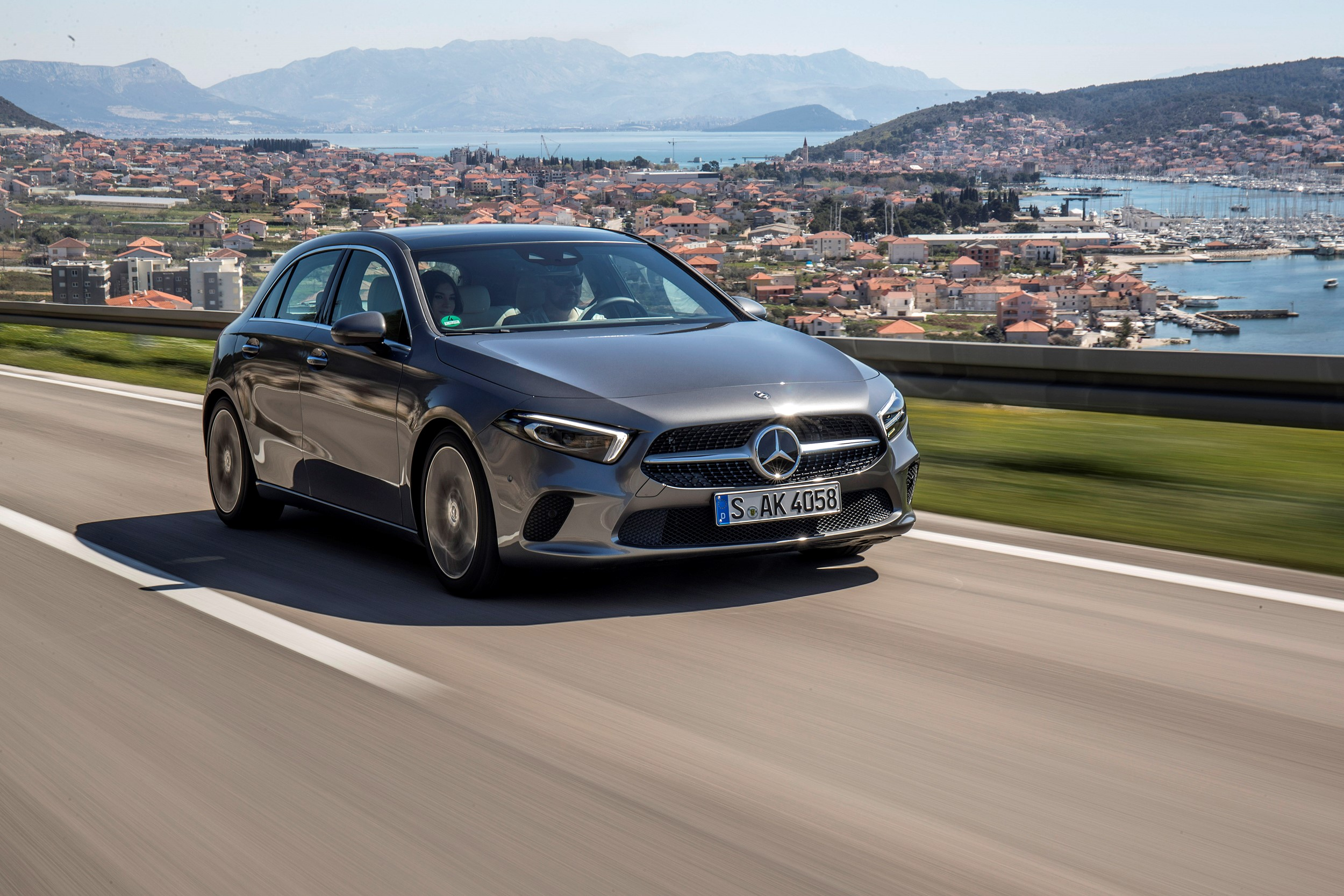 """First drive new Mercedes A Class is both """"grown up and young at"""