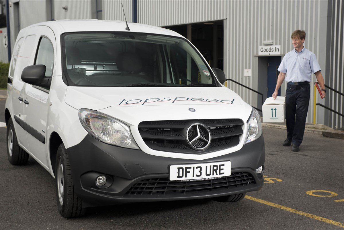 Commercial vehicle shortage to hit christmas sales van news for Mercedes benz christmas commercial