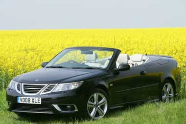 saab 9 3 1 9 ttid aero convertible company car reviews. Black Bedroom Furniture Sets. Home Design Ideas