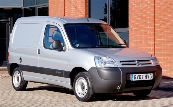 citroen berlingo test fleet news fleet van van reviews. Black Bedroom Furniture Sets. Home Design Ideas