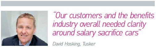 David Hosking, Tusker, quote