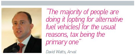 David Watts, Arval, quote