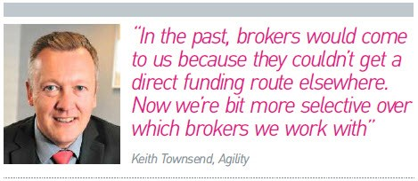 Keith Townsend, Agility, broker quote