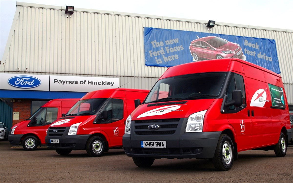 Aah Pharmaceuticals Takes Delivery Of Ford Fleet Fleet