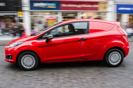 Ford Fiesta Roof Rack >> Driven: Ford Fiesta Van 1.6 TDCi 95 Econetic Trend | Van Reviews