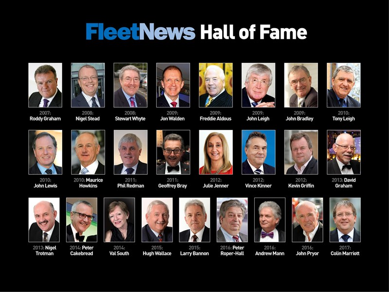 Fleet News Hall of Fame 2007 - 2017