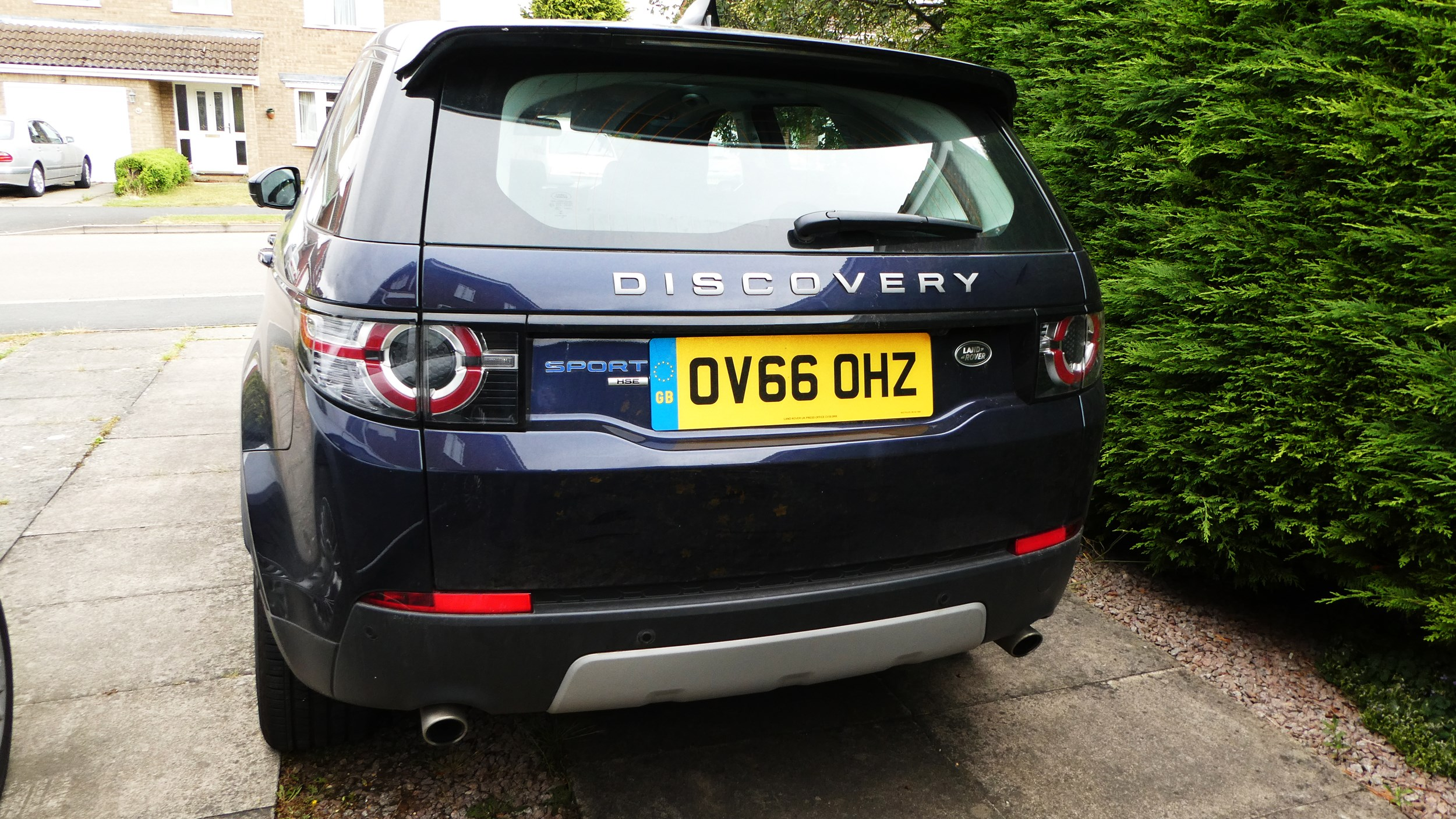 our test fleet land rover discovery sport td4 hse e capability company car review final. Black Bedroom Furniture Sets. Home Design Ideas