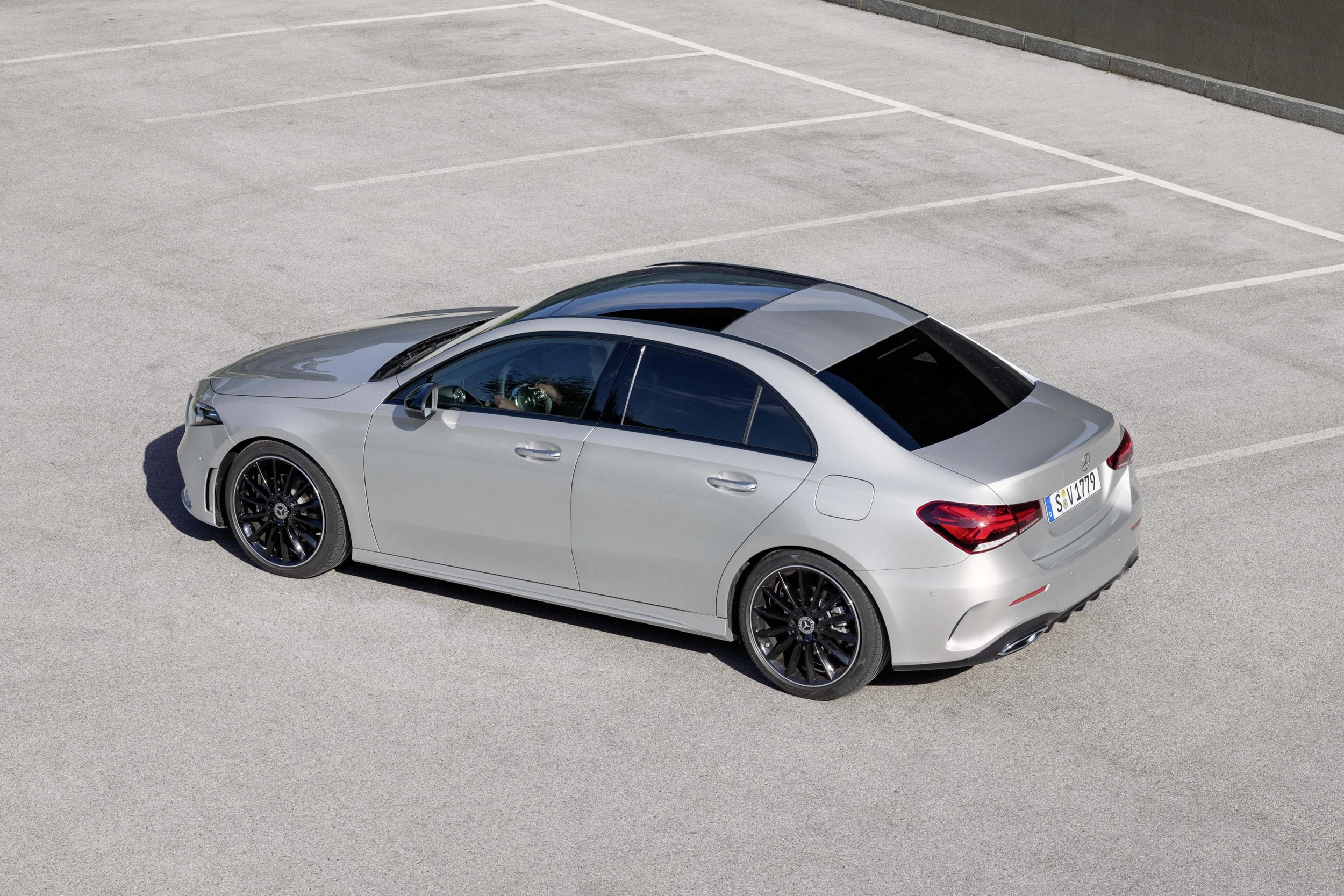 mercedes a class saloon prices and co2 emissions manufacturer news