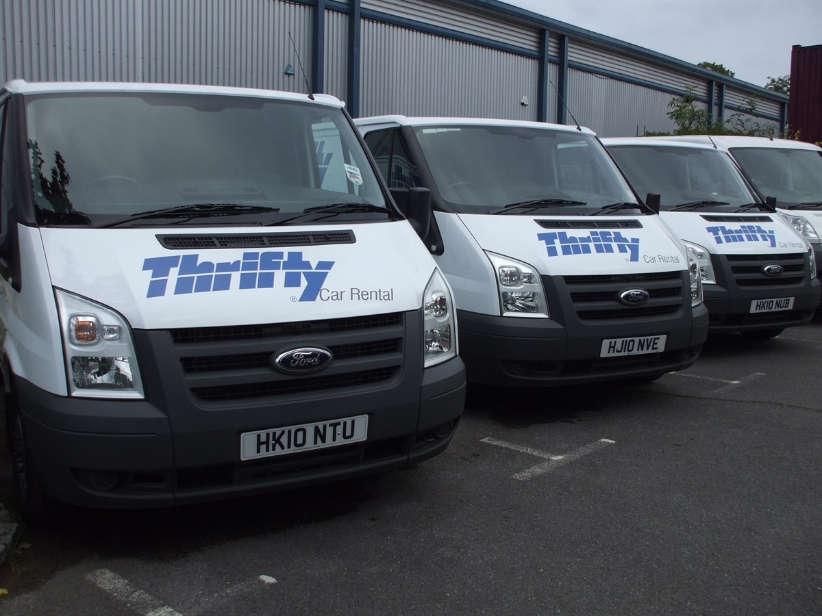Thrifty Provides Bespoke Service To Police Fleet News