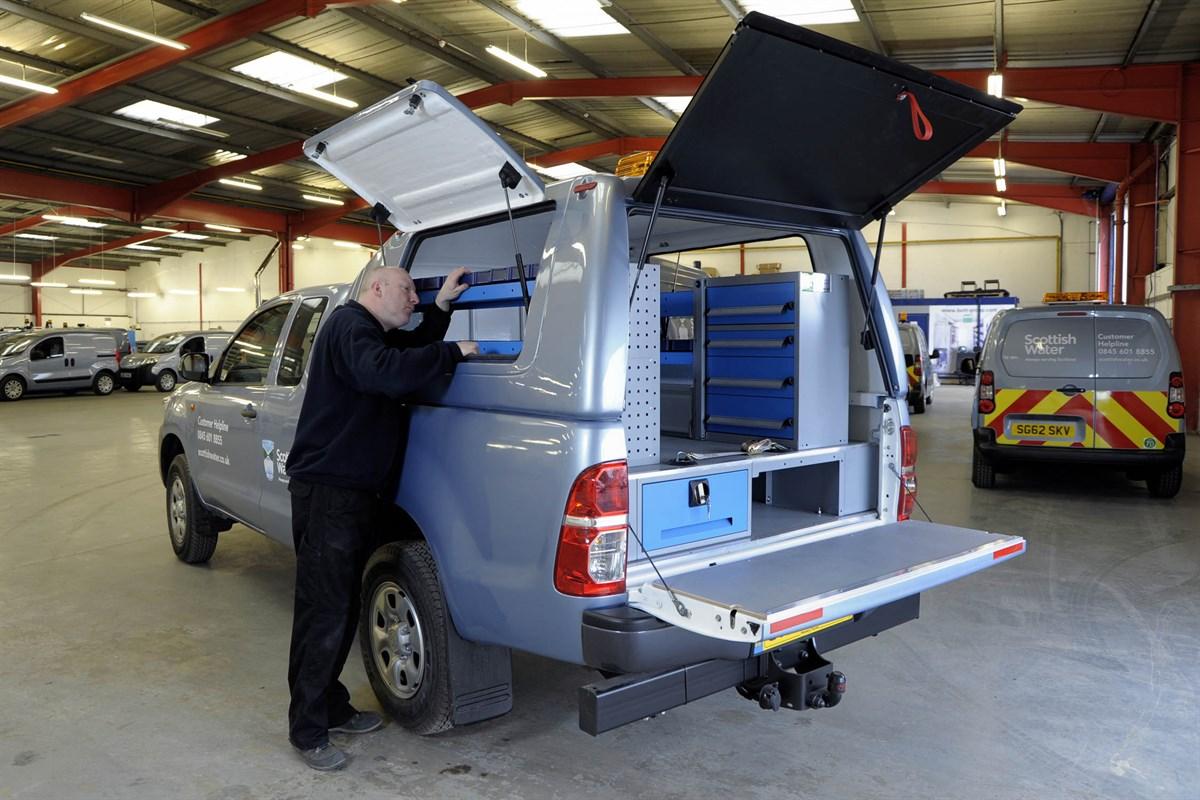 Scottish Water Adds Truckman Tops To Hilux Van News