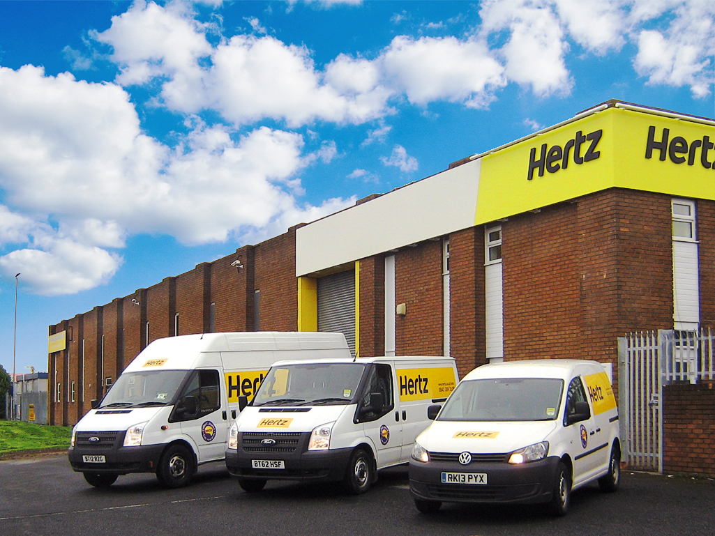 Hertz Launches Van Supersite For Newcastle Area Van News