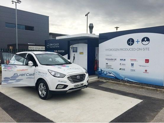 itm power opens m1 hydrogen filling station near sheffield manufacturer news. Black Bedroom Furniture Sets. Home Design Ideas
