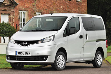 nissan nv200 combi roadtest fleet news fleet van van reviews. Black Bedroom Furniture Sets. Home Design Ideas