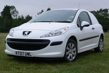 peugeot 207 van test, fleet news, fleet van | van reviews
