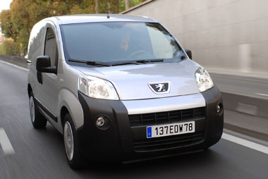 peugeot bipper 1.4 hdi test, fleet news, fleet van | van reviews