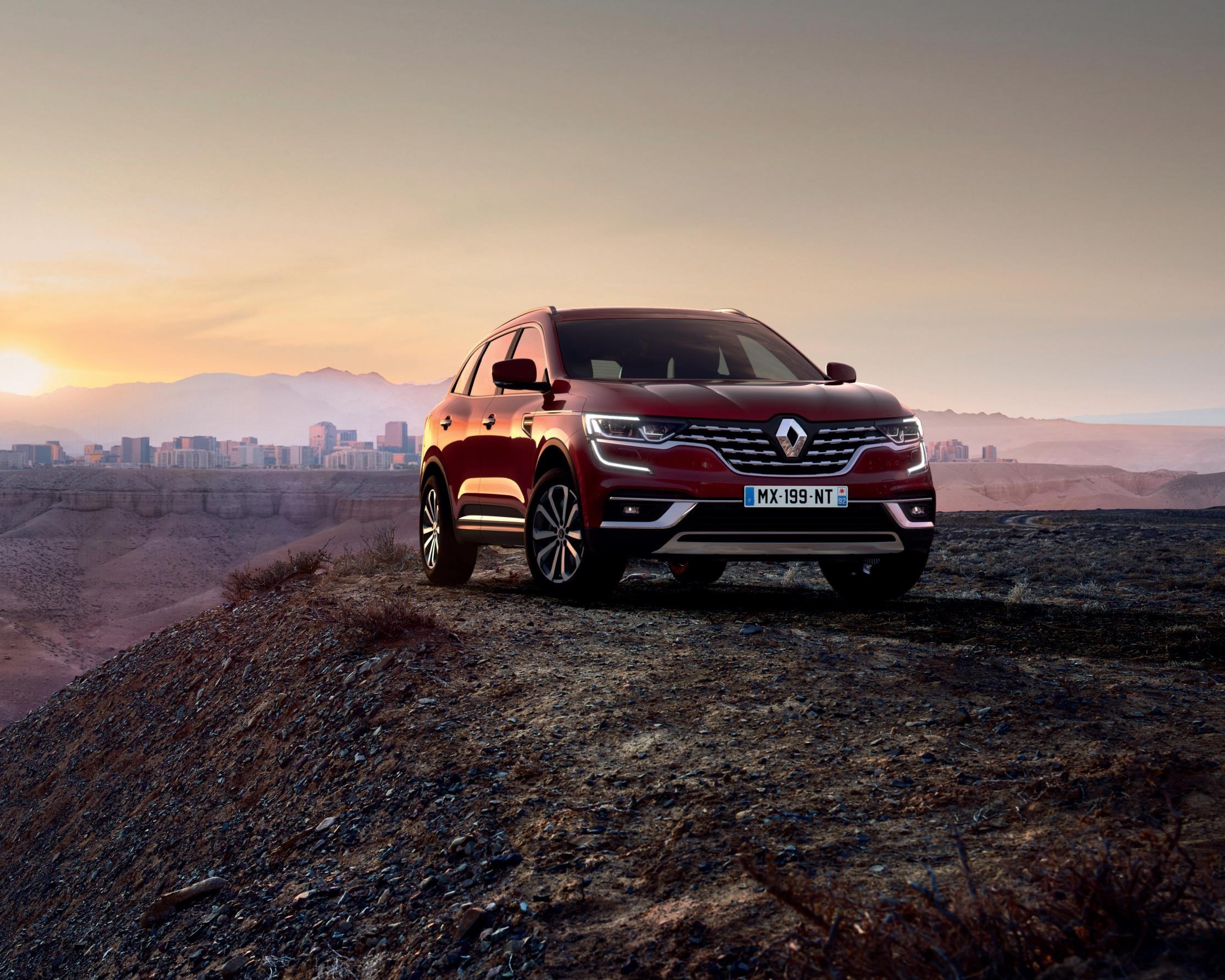 Renault Koleos Updated With New Diesel Engines Manufacturer News