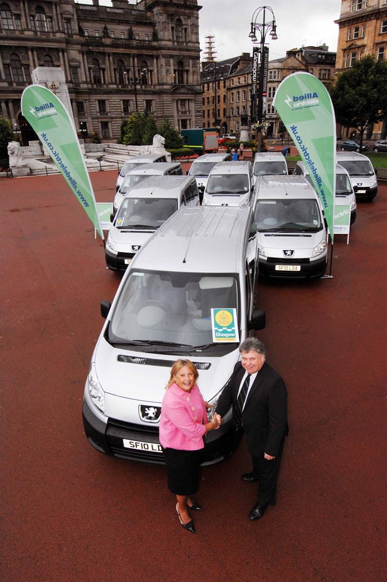 Electric Car Rental Glasgow