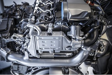 New Mercedes-Benz diesel engine, Mercedes-Benz.