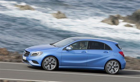 first drive mercedes benz a180 cdi blue efficiency se. Black Bedroom Furniture Sets. Home Design Ideas