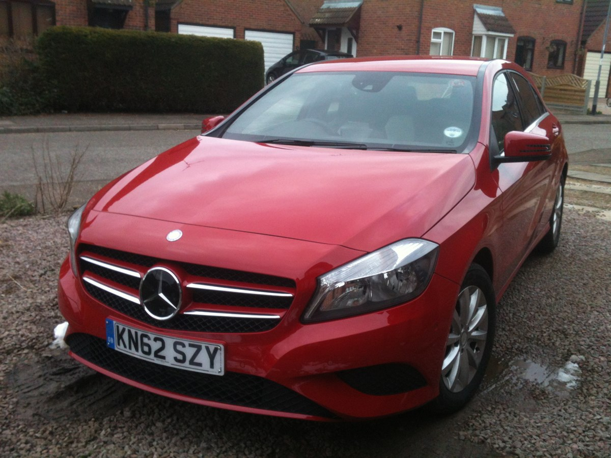 our fleet mercedes benz a180 cdi blueefficiency se company car reviews. Black Bedroom Furniture Sets. Home Design Ideas
