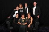 The Swansway team with its 2017 Fleet News Award for best fleet dealaer