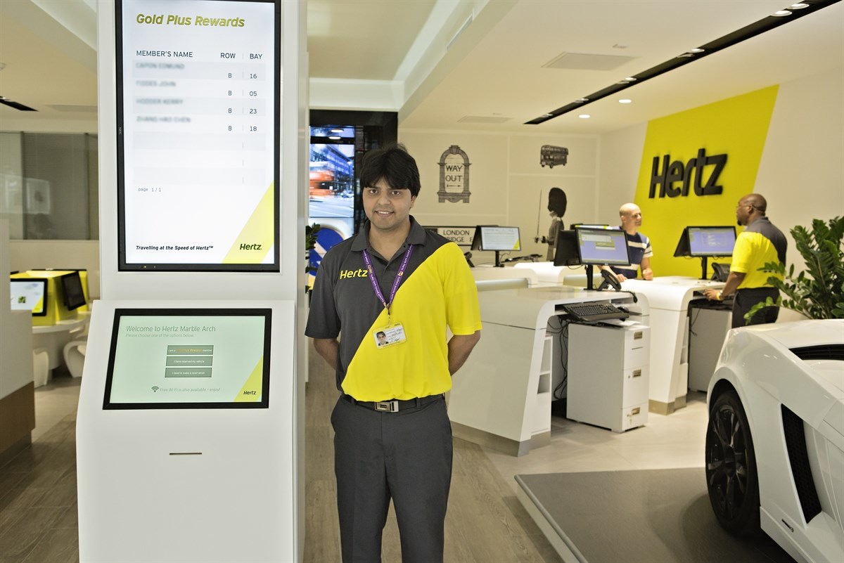 hertz revamps marble arch location fleet industry news. Black Bedroom Furniture Sets. Home Design Ideas