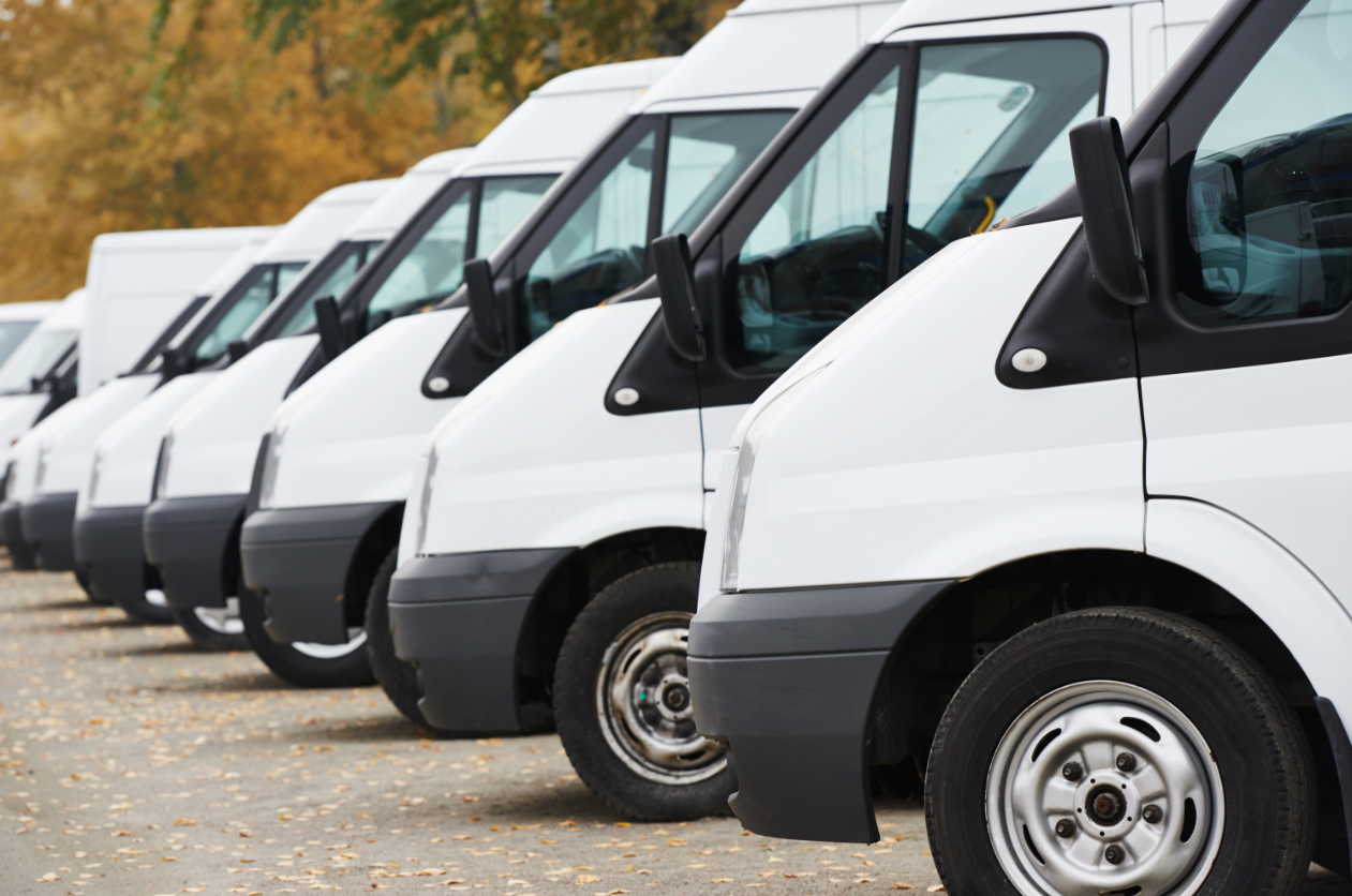 Image result for A fleet of vans