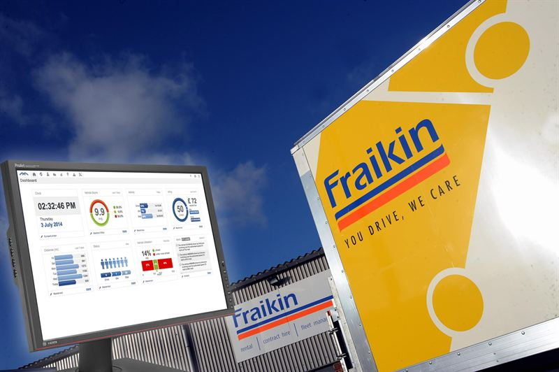 Fraikin And Masternaut Introduce New Telematics System