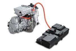 Nissan e-Power series hybrid powertrain