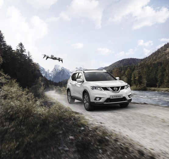 You can now buy a Nissan X-Trail with its own drone