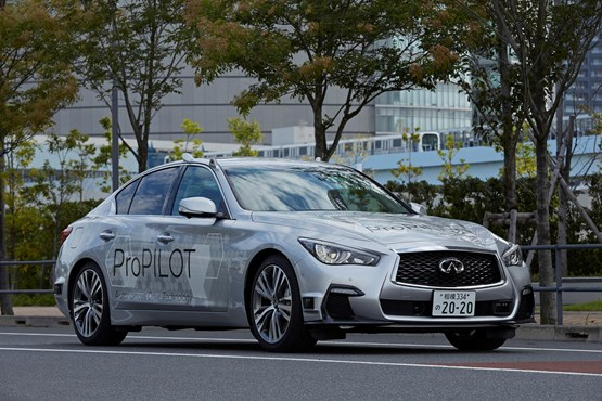 Nissan demonstrates fully autonomous car in Tokyo – due for 2020
