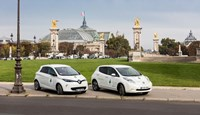 Renault Nissan EV fleet