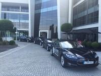 All Electric Chauffeur Tesla