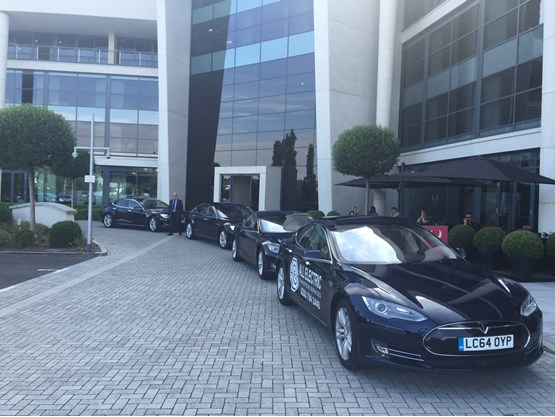 All Electric Chauffeur Tesla