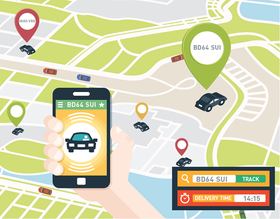 Improve fleet productivity with real-time tracking | Telematics