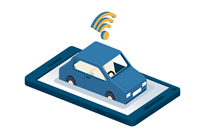 mobile phone telematics app connected car