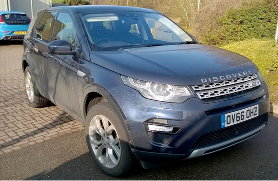 Our test fleet: Land Rover Discovery Sport TD4 HSE E