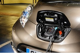 Nissan Leaf, EV, electric vehicle, EV charging infrastructure, plug-in vehicles.