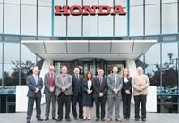 Honda corporate sales team.