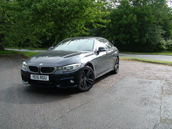 our fleet bmw 4 series 2 0 gran coupe m sport car review october 2015 company car reviews. Black Bedroom Furniture Sets. Home Design Ideas