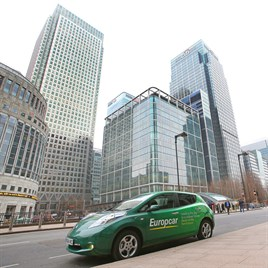Vehicle Rental Provider Europcar Commits To 5 Electric Fleet By