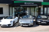 Enterprise Rent-A-Car, Exotic Car Collection.
