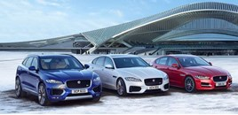 Jaguar F-Pace, XF and XE