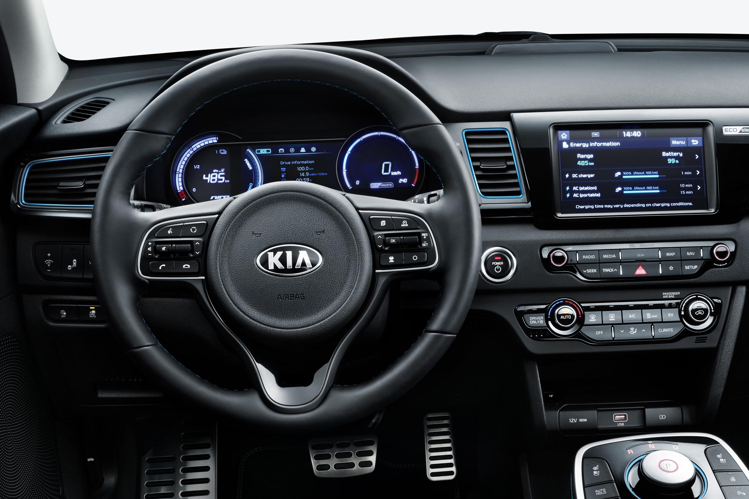 Kia Readies E Niro Pure Electric Suv With Range Of 301 Miles Updated