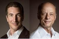 Marco van Kalleveen (left) and Tex Gunning, LeasePlan