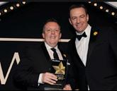 Rob East, Mercedes-Benz Cars UK's head of fleet and Matt Dyer, LeasePlan's managing director.