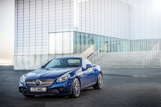 Mercedes Benz Adds Slc 180 To Range With Frugal Petrol Engine