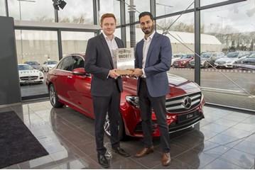 Mercedes-Benz E-Class Car of the Year 2017